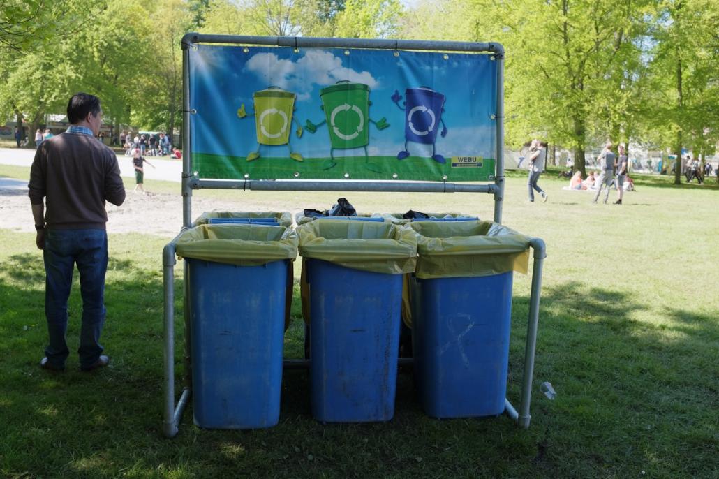 Duurzaam festivallen in de Haarlemmerhout