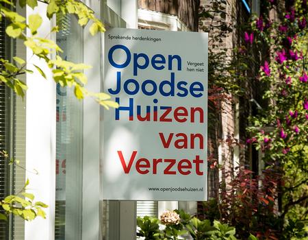 Open Joodse Huizen van Verzet 2019