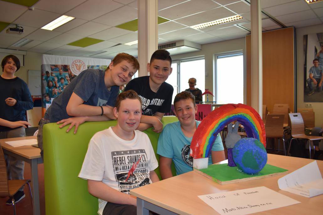 Challenge 'Vrijheid in beweging': jongeren bedenken moNUment