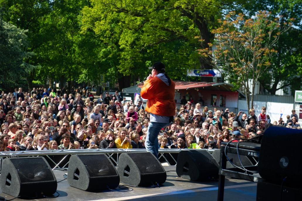 Eerste podiumshow Kalvijn direct groot succes