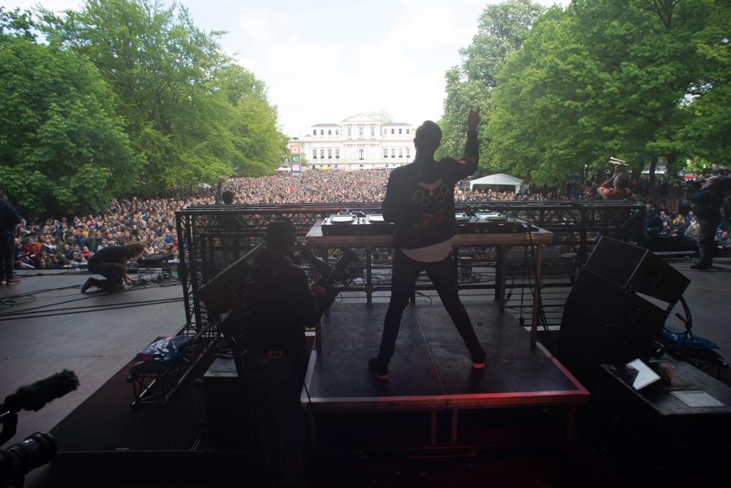 Set van DJ Sam Feldt één groot succes!