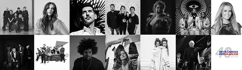 Krezip, Maan, Danny Vera, Kris Kross Amsterdam, Hannah Williams en DeWolff op jarig Bevrijdingspop